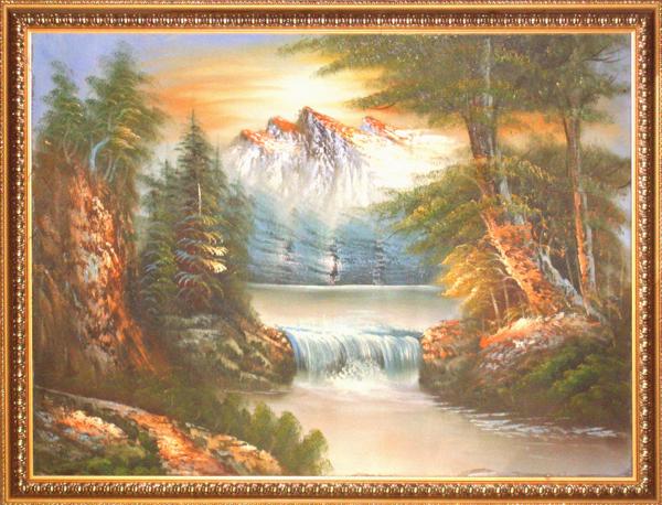 风景油画…更多 -  油画展厅 -  画廊 翰缘画廊  济宁画廊 诚信画廊